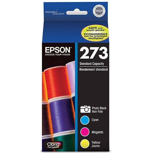 T273520 Ink Cartridge - Epson Genuine OEM (Bundle Pack)
