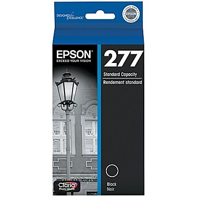 T277120 Ink Cartridge - Epson Genuine OEM (Black)