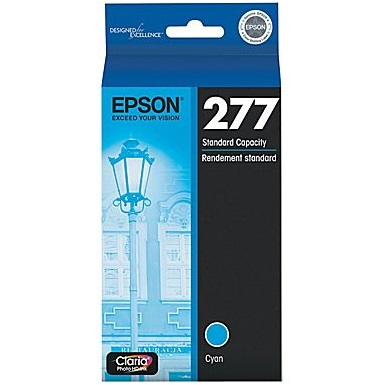 T277220 Ink Cartridge - Epson Genuine OEM (Cyan)