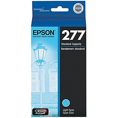 T277520 Ink Cartridge - Epson Genuine OEM (Light Cyan)