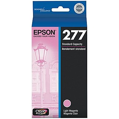 T277620 Ink Cartridge - Epson Genuine OEM (Light Magenta)