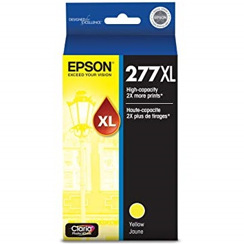 T277XL420 Ink Cartridge - Epson Genuine OEM (Yellow)