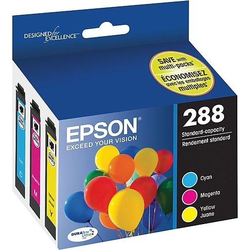 T288520 Ink Cartridge - Epson Genuine OEM (Bundle Pack)