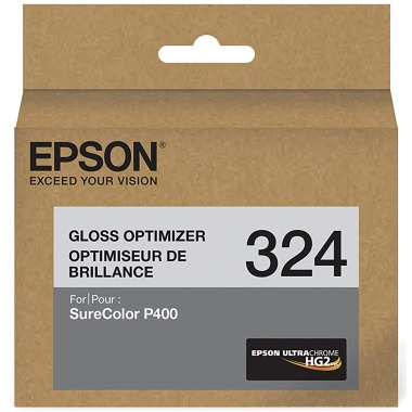 T324020 Ink Cartridge - Epson Genuine OEM (Gloss Optimizer)