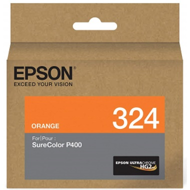T324920 Ink Cartridge - Epson Genuine OEM (Orange)