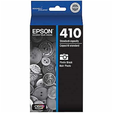 T410120 Ink Cartridge - Epson Genuine OEM (Photo Black)
