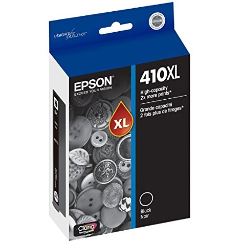 T410XL020 Ink Cartridge - Epson Genuine OEM (Black)