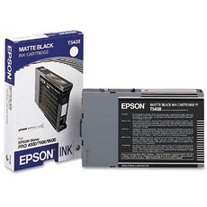 T543800 Ink Cartridge - Epson Genuine OEM (Matte Black)