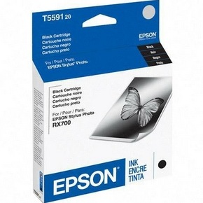 T559120 Ink Cartridge - Epson Genuine OEM (Black)