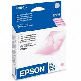 Genuine Epson T559620 Light Magenta Ink Cartridge