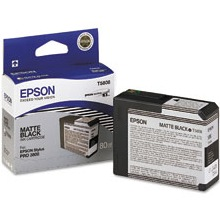 T580800 Ink Cartridge - Epson Genuine OEM (Matte Black)