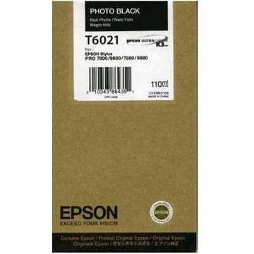 Genuine Epson T602100 Photo Black Ink Cartridge