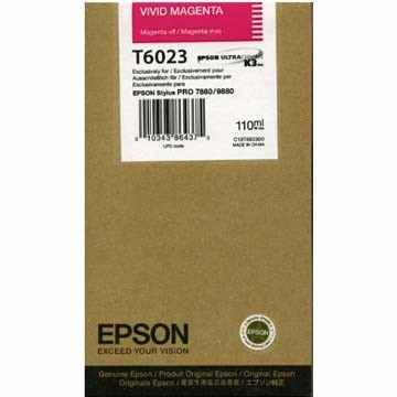 Genuine Epson T602300 Magenta Ink Cartridge