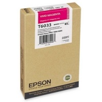 T603300 Ink Cartridge - Epson Genuine OEM (Vivid Magenta)