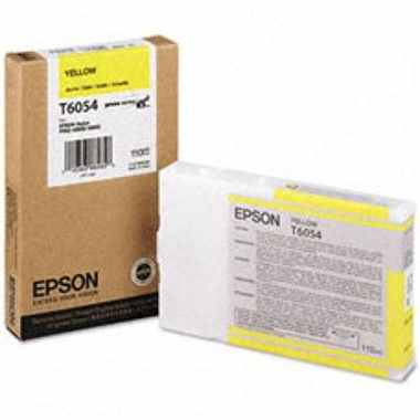 T605400 Ink Cartridge - Epson Genuine OEM (Yellow)