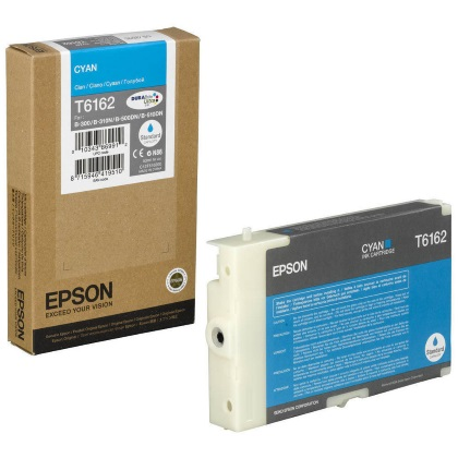 T616200 Ink Cartridge - Epson Genuine OEM (Cyan)