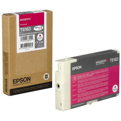 T616300 Ink Cartridge - Epson Genuine OEM (Magenta)