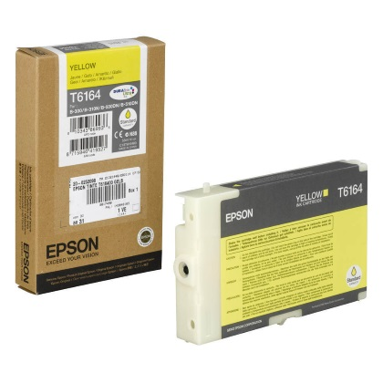 T616400 Ink Cartridge - Epson Genuine OEM (Yellow)