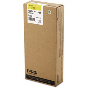 T624400 Ink Cartridge - Epson Genuine OEM (Yellow)