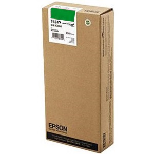 T624700 Ink Cartridge - Epson Genuine OEM (Green)