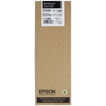 T636800 Ink Cartridge - Epson Genuine OEM (Matte Black)
