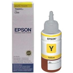 T664420 Ink Bottle - Epson Genuine OEM (Yellow)
