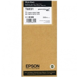 T693100 Ink Cartridge - Epson Genuine OEM (Photo Black)