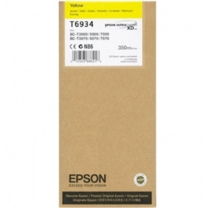 T693400 Ink Cartridge - Epson Genuine OEM (Yellow)