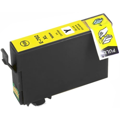 T702XL420 Ink Cartridge - Epson Remanufactured (Yellow)