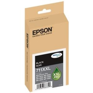 T711XXL120 Ink Cartridge - Epson Genuine OEM (Black)
