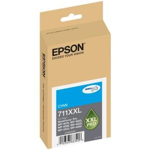 T711XXL220 Ink Cartridge - Epson Genuine OEM (Cyan)