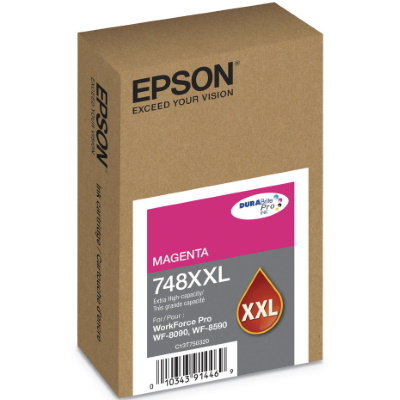 T748XXL320 Ink Cartridge - Epson Genuine OEM (Magenta)