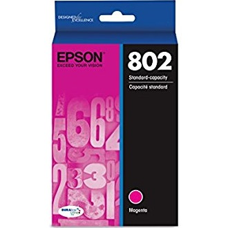 T802320 Ink Cartridge - Epson Genuine OEM (Magenta)