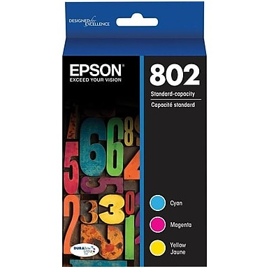 T802520-S Ink Cartridge - Epson Genuine OEM (Bundle Pack)