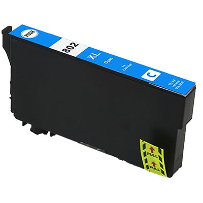 T802XL220 Ink Cartridge - Epson Remanufactured (Cyan)