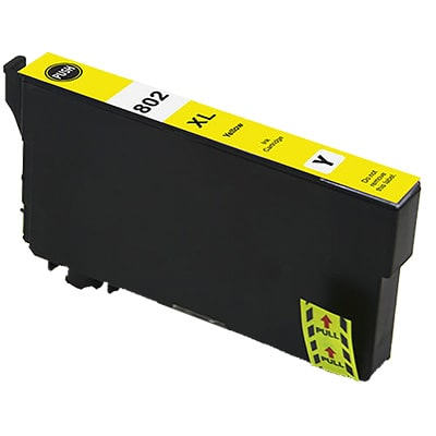 T802XL420 Ink Cartridge - Epson Remanufactured (Yellow)