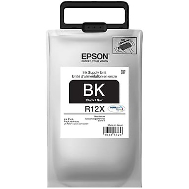 TR12X120 Ink Cartridge - Epson Genuine OEM (Black)