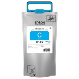TR14X220 Ink Cartridge - Epson Genuine OEM (Cyan)
