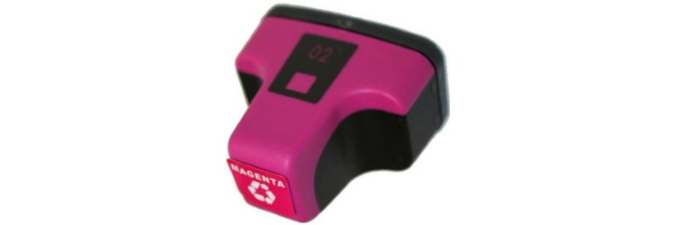 HP 02 Magenta Remanufactured