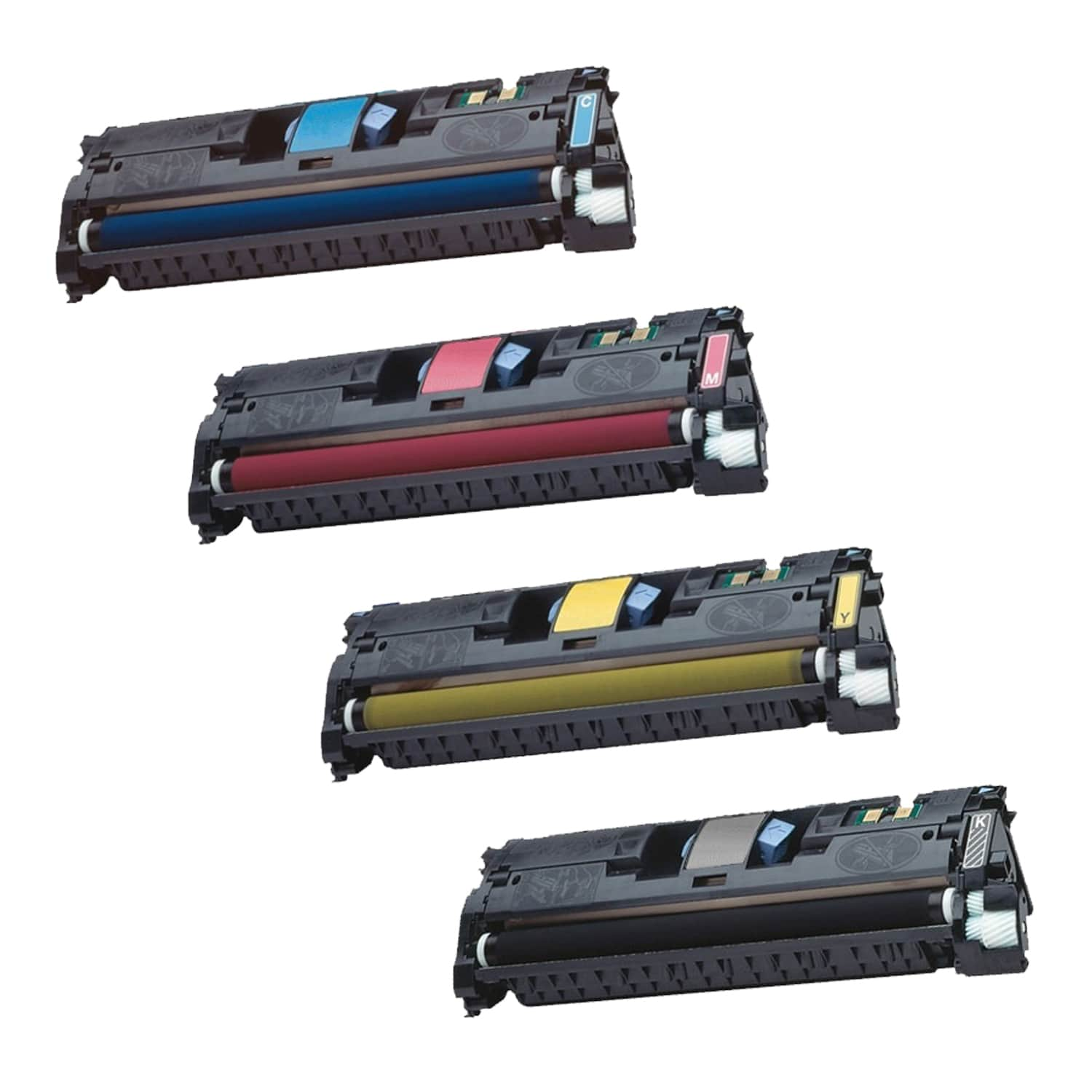 Remanufactured HP 121A Toner Pack - 4 Cartridges