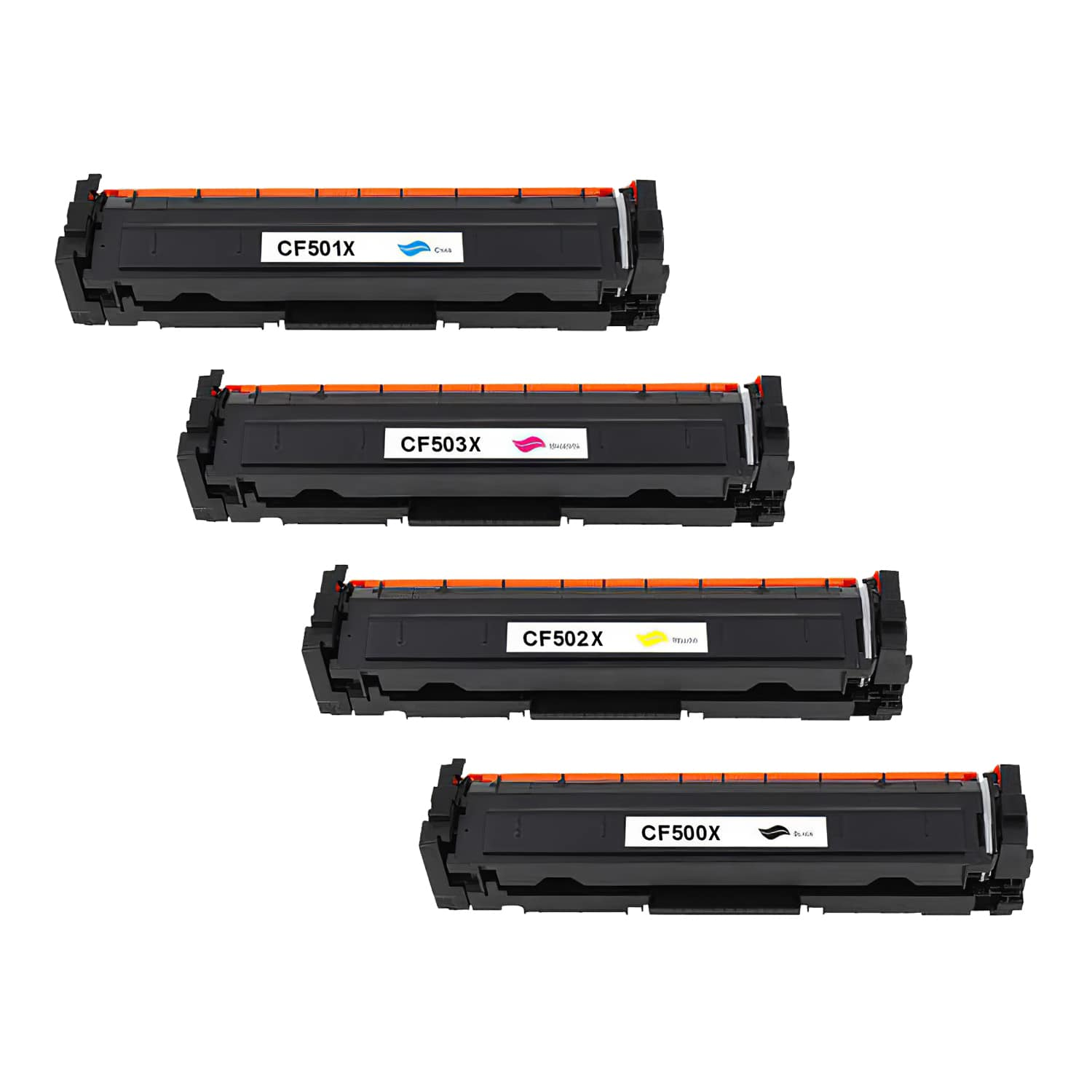 Compatible HP 202X Toner High Capacity Pack - 4 Cartridges