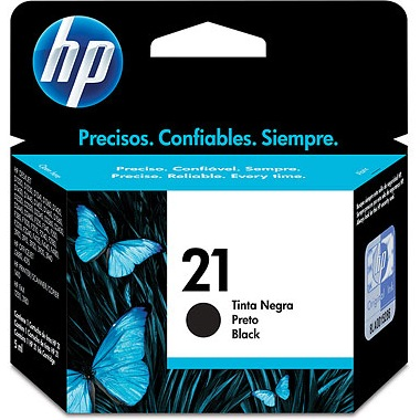 HP 21 Ink Cartridge - HP Genuine OEM (Black)