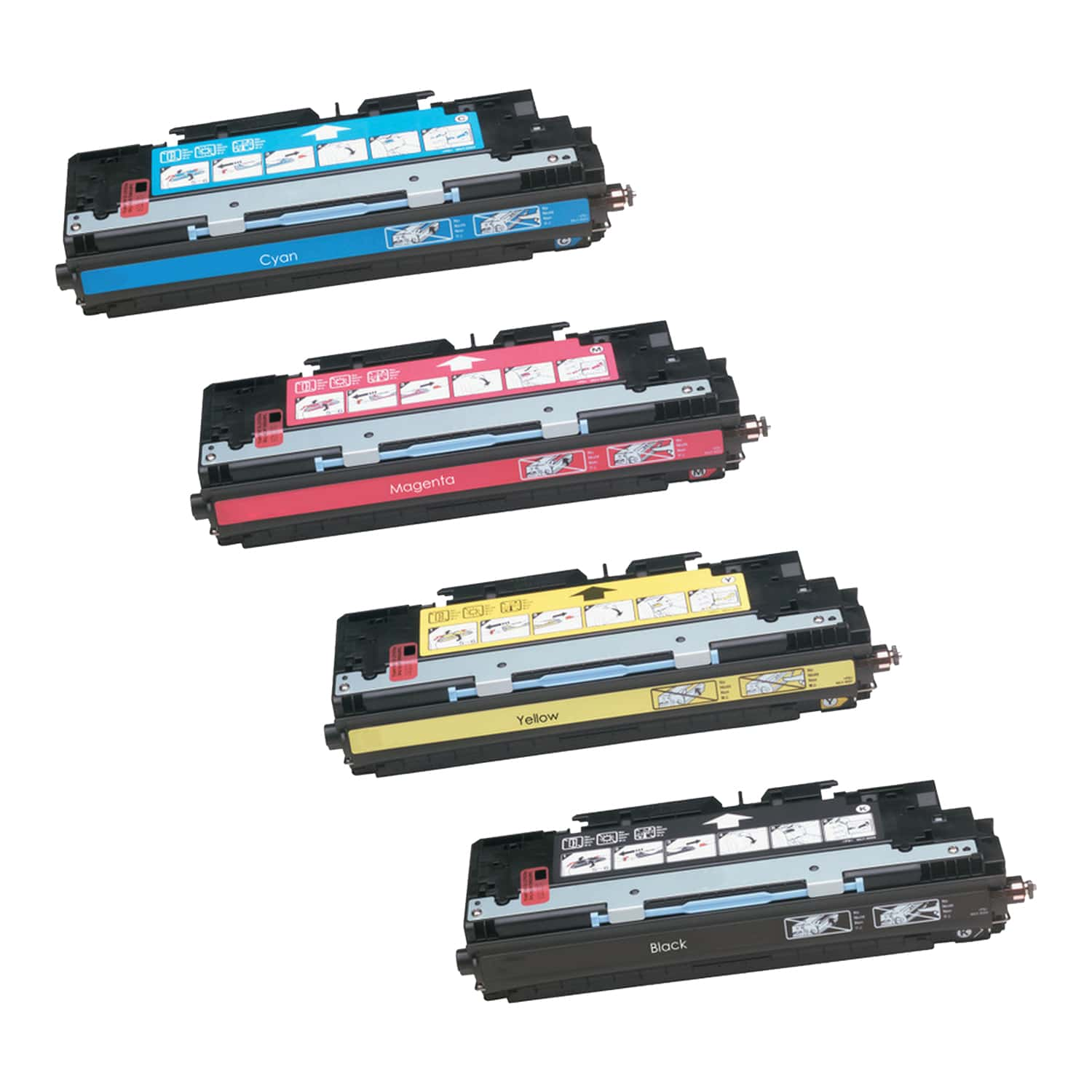 Remanufactured HP Toner Cartridge Bundlpack 311A-308A CMYK Pack - 4 Cartridges