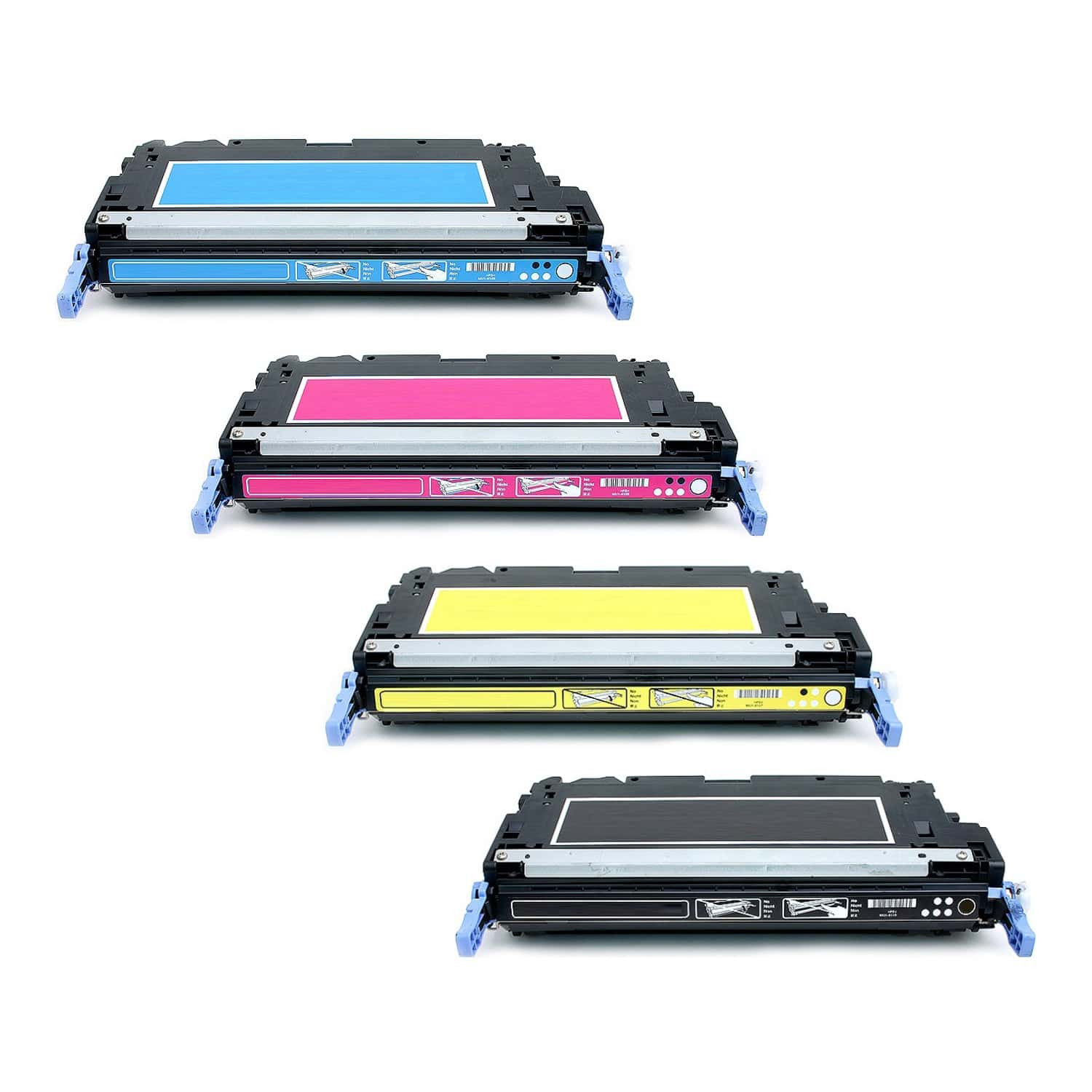 Remanufactured HP Toner Cartridge Bundlpack 502A-501A CMYK Pack - 4 Cartridges
