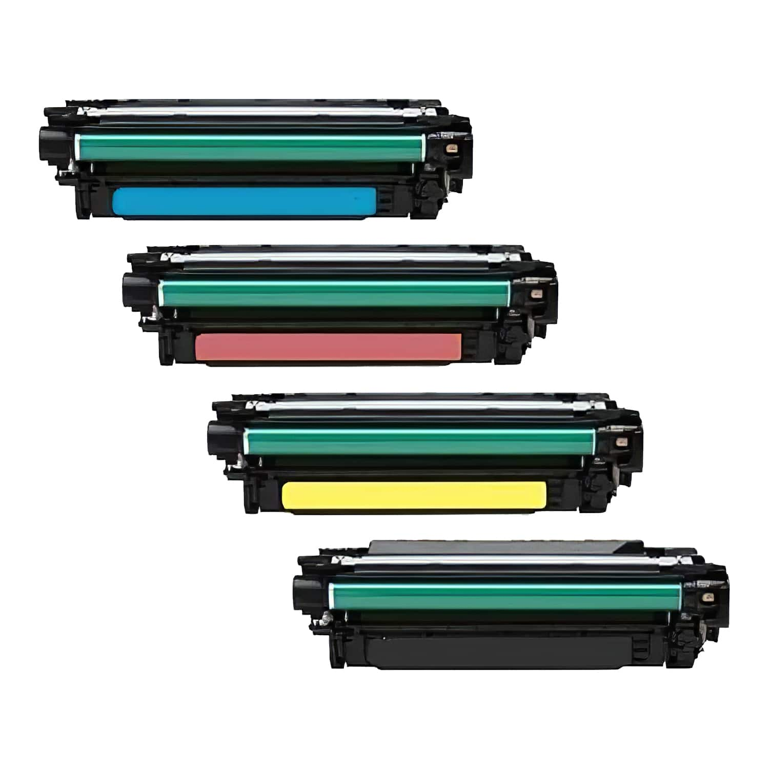 Remanufactured HP Toner Cartridge Bundlpack 507A CMYK Pack - 4 Cartridges
