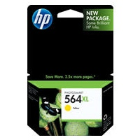 HP 564XL Yellow Ink Cartridge - HP Genuine OEM (Yellow)