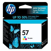 HP 57 Ink Cartridge - HP Genuine OEM (Tricolor)