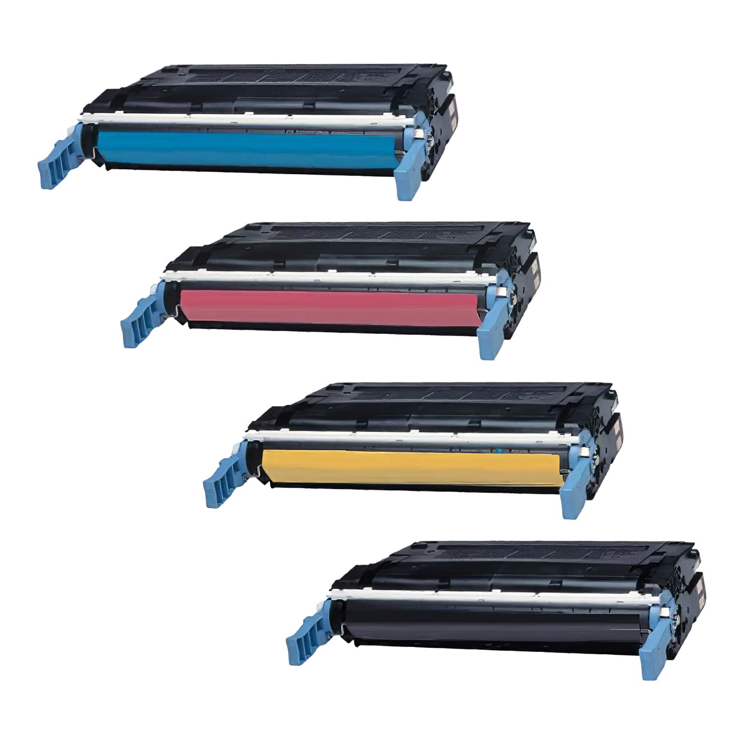 Remanufactured HP Toner Cartridge Bundlpack 644A CMYK Pack - 4 Cartridges