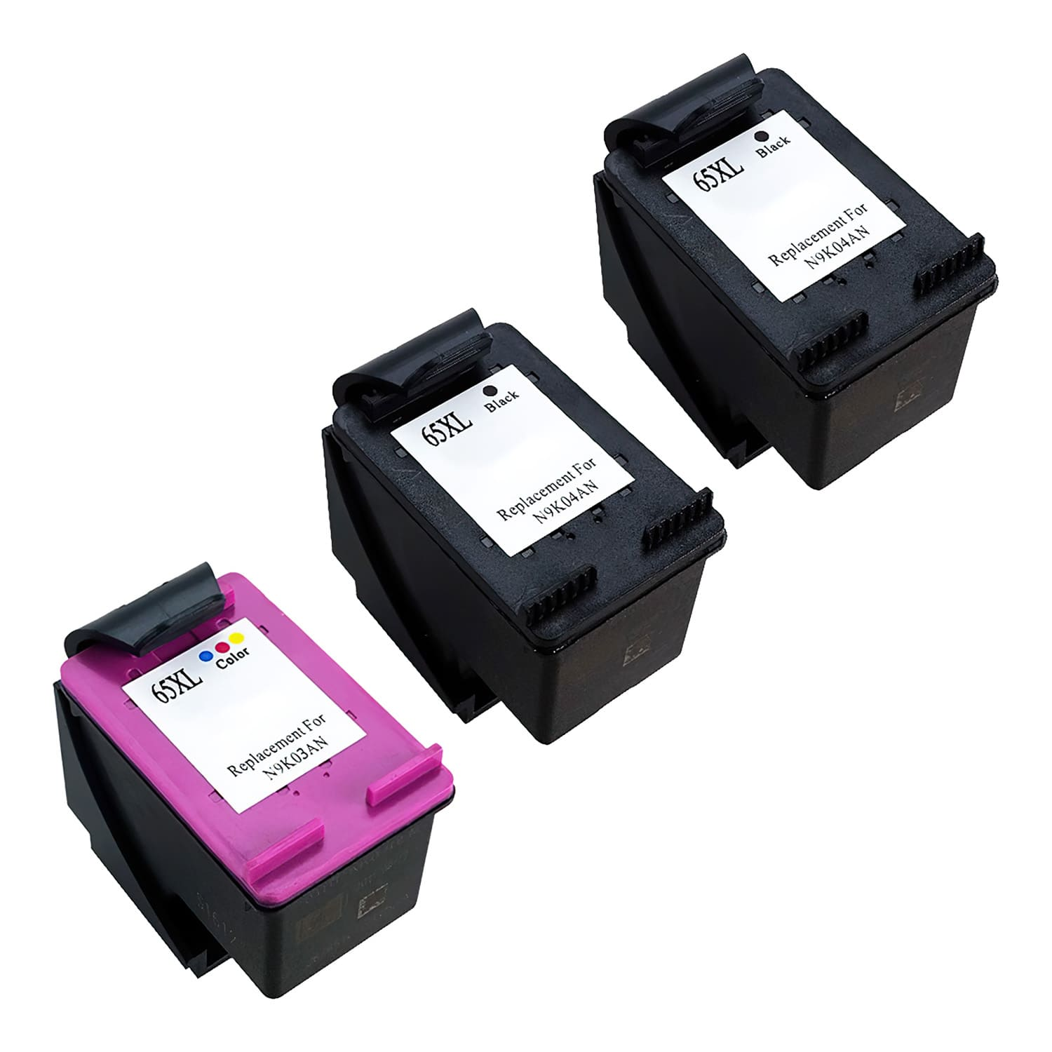 Compatible HP 65XL Inkjet High Capacity Pack - 3 Cartridges