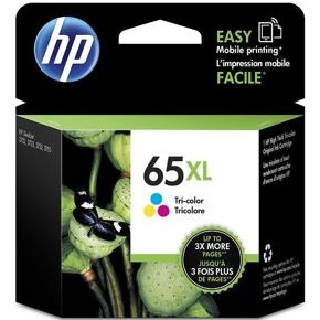 HP 65XL Tricolor Ink Cartridge - HP Genuine OEM (Tricolor)